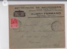 LOIR ET CHER - 1931 - ENVELOPPE PUBLICITAIRE DECOREE De FRETEVAL - Marcophilie (Lettres)
