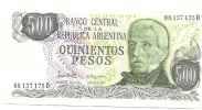 500 Pesos - Argentine