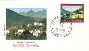 Serie Turistica Tourisme Fai Della Paganella 1982 Cover FDC Premier Jour Italia. - Other