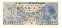 1 Rupiah - 1954 - Indonésie