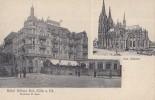Allemagne - Köln Am Rhein - Hötel Kölner Hof - Koeln