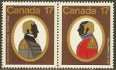 CANADA 1979  MNH Stamp(s) Colonels 729-730 #5707 - Militaria