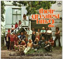 * LP *  THEIR GREATEST HITS 2 - BUFFOONS / BRAINBOX / SEPTEMBER / UNIT GLORIA A.o. (Nederpop 1970) - Rock