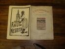 N° 168 Du 7 Janvier 1911              LA FUGITIVE            0,1 Euro ( Gratuit ) En Ajout  (voir Description) - Théâtre