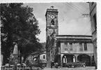 SORGONO - PIAZZA DELLA VITTORIA ( NUORO ) STAZIONE DI SERVIZIO ESSO - ANIMATA - VG 1954 - Nuoro