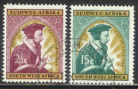 SWA 1964 Cancelled Stamp(s) Calvin 323-324 #610 - Christianity