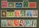 Ned 1943 Zeehelden Zegels Mint 405-421 # 286 - Period 1891-1948 (Wilhelmina)