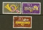 SWITZERLAND 1949 Stamps  Post Used  519-521 # 601 - Switzerland