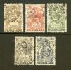 NEDERLAND 1949 Kinder Serie 544-548 Used # 1164 - Childhood & Youth