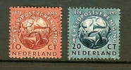 NEDERLAND 1949 Wereldpostver. Serie 542-543 Used # 1163 - U.P.U.