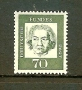 GERMANY 1961 M.N.H. Stamp(s) Famous Persons (1 Value Only (70pf) #2079 - [7] Federal Republic