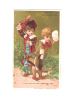 CHROMO DORE  GUERIN BOUTRON - SCENE D'ENFANTS - Guerin Boutron
