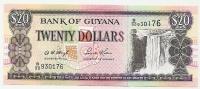 20 Dollars - Guyana