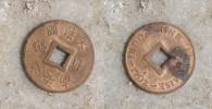 INDOCHINE FRANCAISE- Sapèque 1902 - Monnaies
