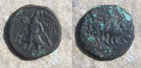 AFGHANISTAN ARCHEO Empire Kushan- Kanishka- Pièce Un Hexachalkon-Tétradrachme - Monnaies Antiques