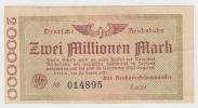 GERMANY 2 MILLION MARK 1923 XF - 2 Millionen Mark