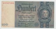Germany 100 Reichsmark 24-6- 1935 VF+ CRISP Banknote P 183a  183 A - [ 4] 1933-1945: Derde Rijk