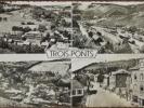 BELG - TROIS-PONTS - 4 Vues Générales. (Multivues). CPSM - Trois-Ponts