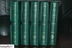 LIECHTENSTEIN Umfangreiche Slg.Ersttagsbriefe und Maximumkarten in 5 neun Alben mit Kasetten - teil Abgebildet - ( S -6)