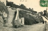 CPA 89 AVALLON LES TERREAUX DE LA PETITE PORTE 1913 - Avallon