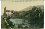 CPA CHAUDFONTAINE  Le Pont Et La Vesdre - Chaudfontaine
