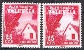 Valencia Plan Sur, Barraca Valencia, VARIEDAD Color,  Edifil Num 3 * - 1931-Hoy: 2ª República - ... Juan Carlos I