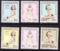 1960 Caritas : Prinzessin Marie-Astrid Kompletter Satz Falzlos Michel 631 / 636 - Ongebruikt