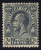 Turks & Caicos #48 King George V, Unused (0.65) - Turks And Caicos
