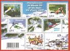 """La Feuille F4329 """"Championnat Du Monde De Ski Alpin 2009 à Val D´Isère"""" Luxe Bas Prix, A SAISIR. - Feuilles Complètes"""