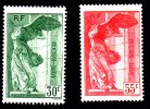 FRANCE 1937 Paire Samothrace N°Yvert 354 Et 355 Neuf  ** - France