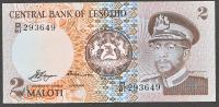 LESOTHO:  2 Maloti - 1981  - P4a - FDS - Lesoto