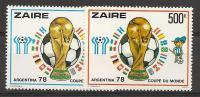 ZAIRE 936/937 ** ( COB ) COTE : 25 EURO A 25 % - Zaïre