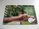 Fiji Bula Fijian Warrior Cocco Raccoglitore Di Cocco - Figi