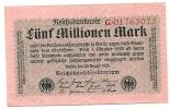 Inflation - 1923 - [ 3] 1918-1933 : Repubblica  Di Weimar