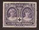 MA95-LB037TEUESPCOLSC-.Maroc.Marocco.MARRUECOS  ESPAÑOL.CRUZ ROJA   1926 (Ed 95**) Nuevo, Sin Charnela. - España