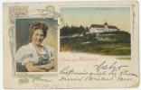 Gruss Aus MARIENBAD Mehrbild Farbe1911 - Böhmen Und Mähren
