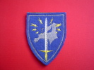 ECUSSON ETAT MAJOR CORPS EUROPEEN / EUROCORPS / STRASBOURG - Patches