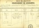 Fauconnier Gravy Mons Villers-Potterie Chatelet - Historical Documents
