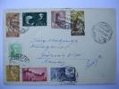 Carta Con Sellos ESPAÑA; IFNI; TANGER; GUINEA ESPAÑOLA 1957 De Palma De Mallorca A Zürich/Suiza - Ifni