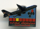 Pin's Mutuelle Aerospatiale Saint Nazaire Airbus A 340 - Airplanes
