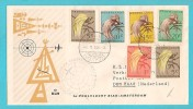 STORIA POSTALE 1e POOLVLUCHT BIAK - AMSTERDAM 1958 - Nuova Guinea Olandese