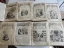 LOT DE 8 X : LES CINQ CENTIMES ILLUSTRES ( 1857 A 1862 ) !!! - Livres, BD, Revues