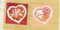 Timbre Oblitéré: 3538, 3539; Saint Valentin, Coeur 2003 Torente - Oblitérés