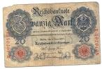 20 DM - 1907 - 50 Mark