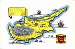 Map Of Cyprus - Cyprus