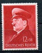 "IIIE Reich - Emission De 1941 ""52e Anniv. D'Hitler (696**) - Nuevos"