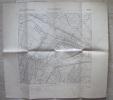 MAPPA GEOGRAFICA MALALBERGO BOLOGNA EDIZIONE ISTITUTO GEOGRAFICO MILITARE ANNO 1893 - Carte Geographique