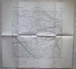 MAPPA GEOGRAFICA MARRARA FERRARA EDIZIONE ISTITUTO GEOGRAFICO MILITARE ANNO 1893 - Carte Geographique