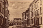 DIKSMUIDE  ** DIXMUDE  1914 RUE DE LA STATION - STATIE STRAAT - STATION ROAD - Diksmuide