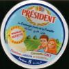 Etiquette De Fromage  LE PRESIDENT-algerie - Fromage